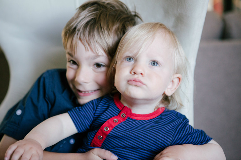 Kid and Toddler Portrait shot